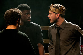 #72246,  Dress Rehearsal for Shakespeare's, 'Macbeth', Rose Bruford College, Sidcup, Kent.