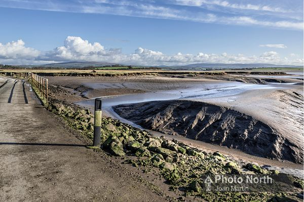 SUNDERLAND POINT 27A - The causeway over Lades Marsh