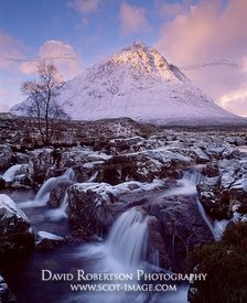 Image - Buachaille Etive Mor and the River Coupall, Scotland, Winter