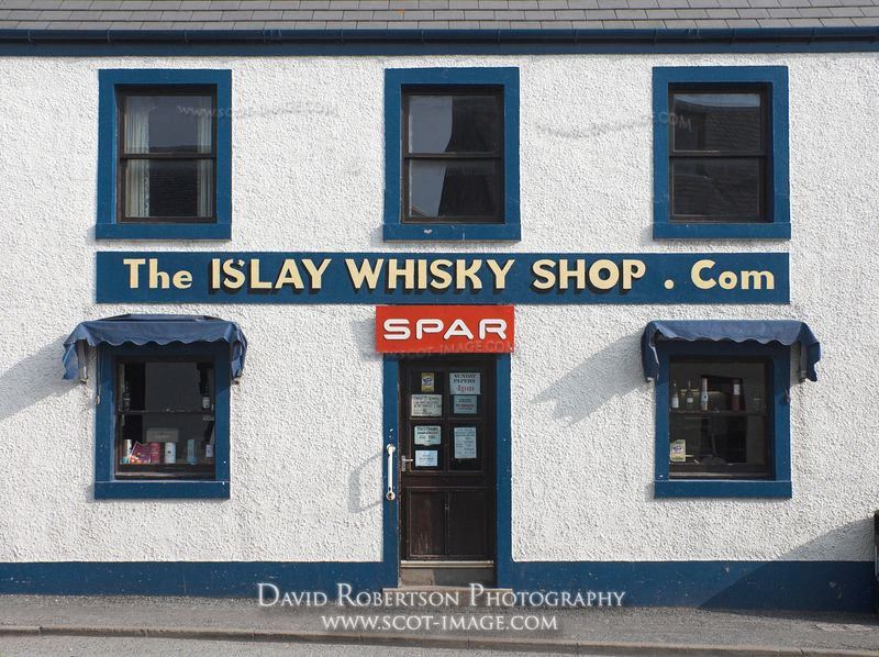 Image - The Islay Whisky Shop in Bowmore, Scotland