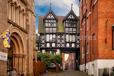 Grade 1 listed Council House Gatehouse in Shrewsbury