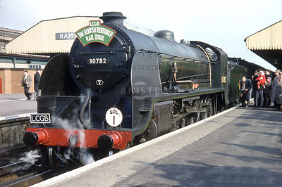 Steam loco King Arthur 30782 Ramsgate