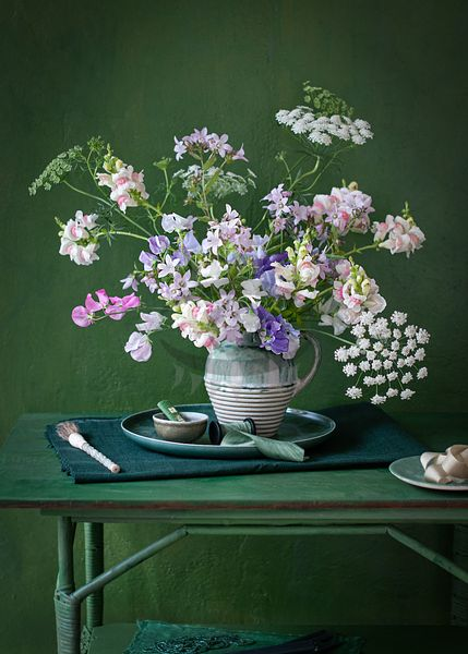 sweet peas by Weber