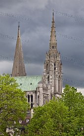 Towers of Chartres