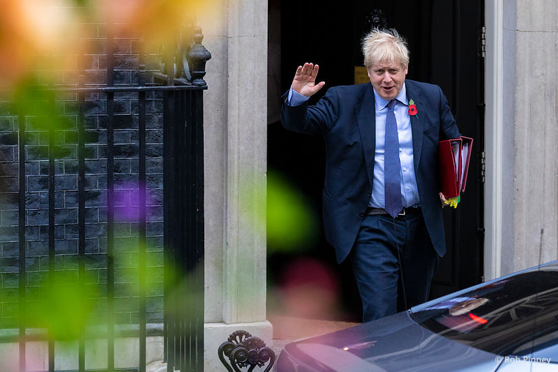 Boris Johnson attends Prime Minister's Questions