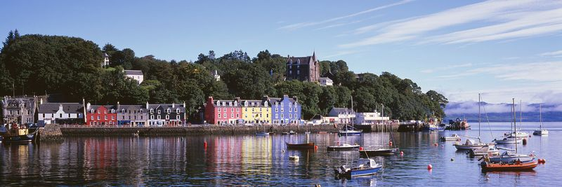 Image - Tobermory, Isle of Mull, Argyll, Scotland, Panoramic