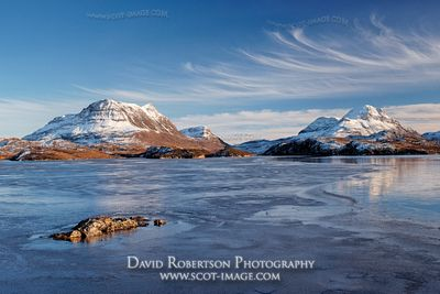 Image - Cul Mor, Cul Beag and Loch Sionascaig, Inverpolly, Scotland