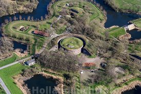 Luchtfoto Fort Everdingen