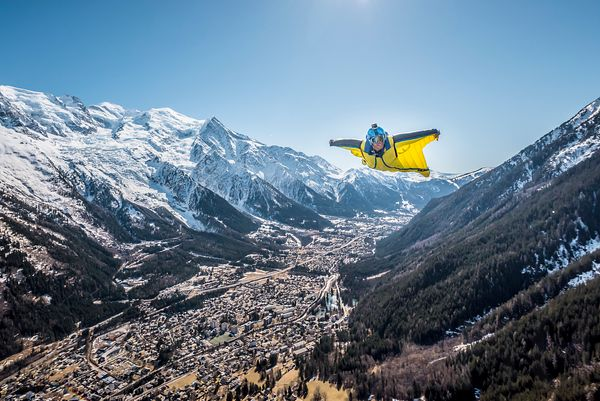 Wingsuit flying with a smile with Guillaume Galvani