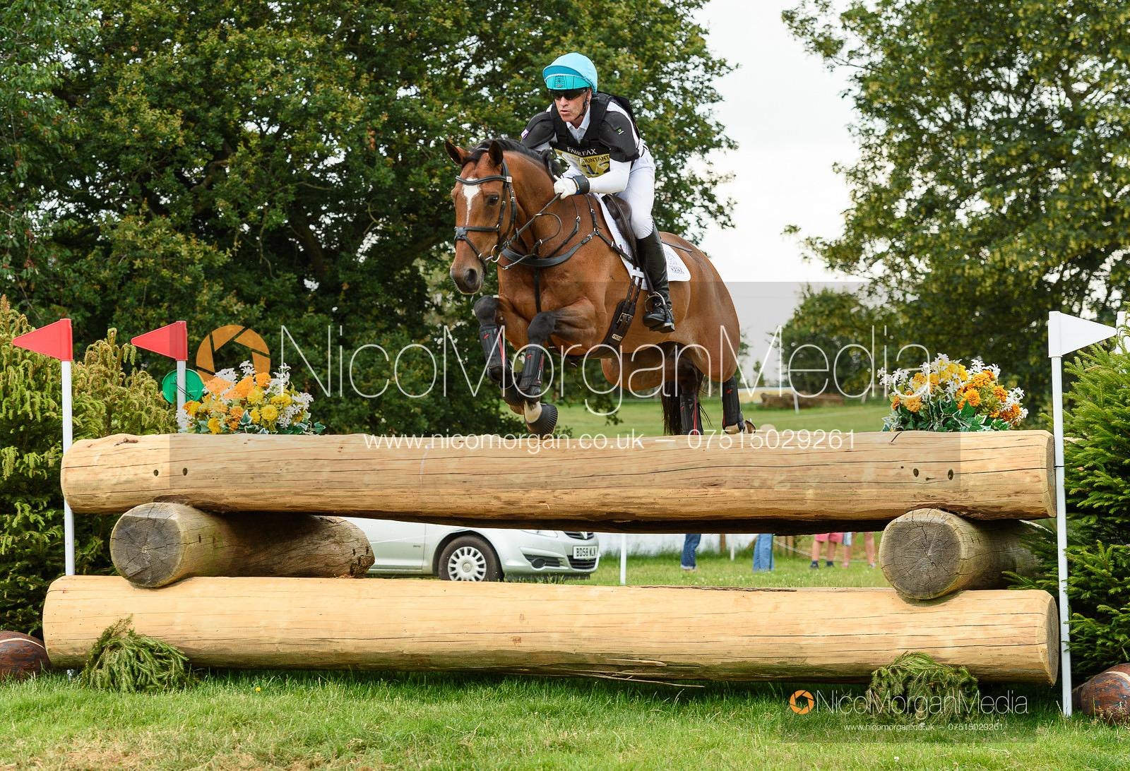 Andrew Hoy and BLOOM DES HAUTS CRETS - Upton House Horse Trials 2019.