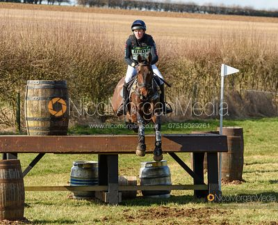 James Sommerville and ALTASKIN JACK. Oasby (1) Horse Trials 2020