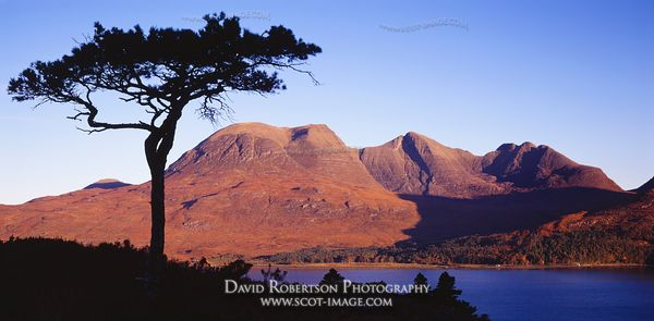Image - Beinn Alligin Panoramic, Torridon, Scotland