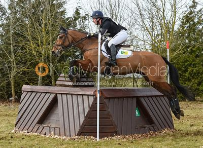 Oliver Townend and COOLEY MASTER CLASS - Intermediate Sections - Oasby Horse Trials, March 2018.