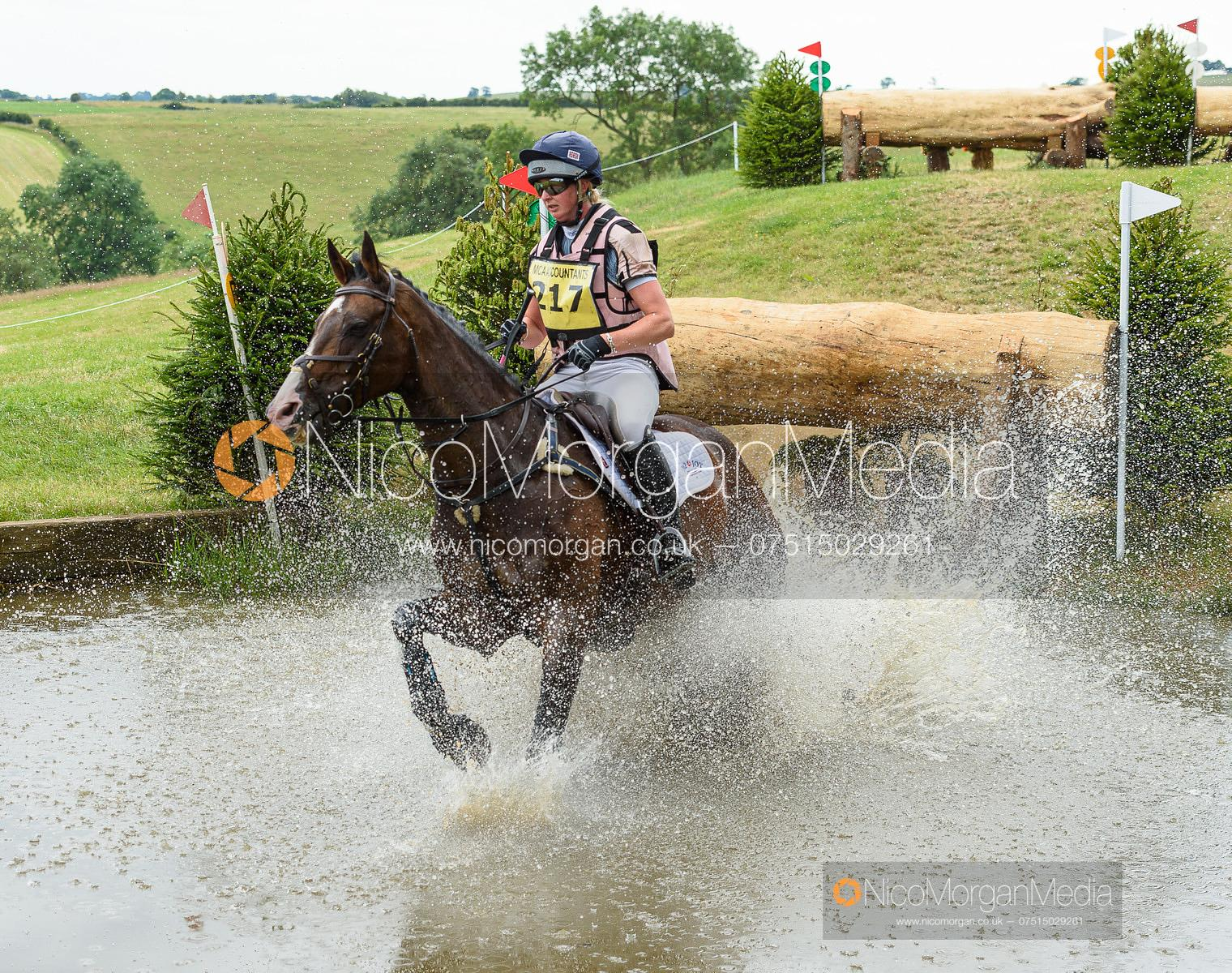 Georgie Spence and WII LIMBO - Upton House Horse Trials 2019.
