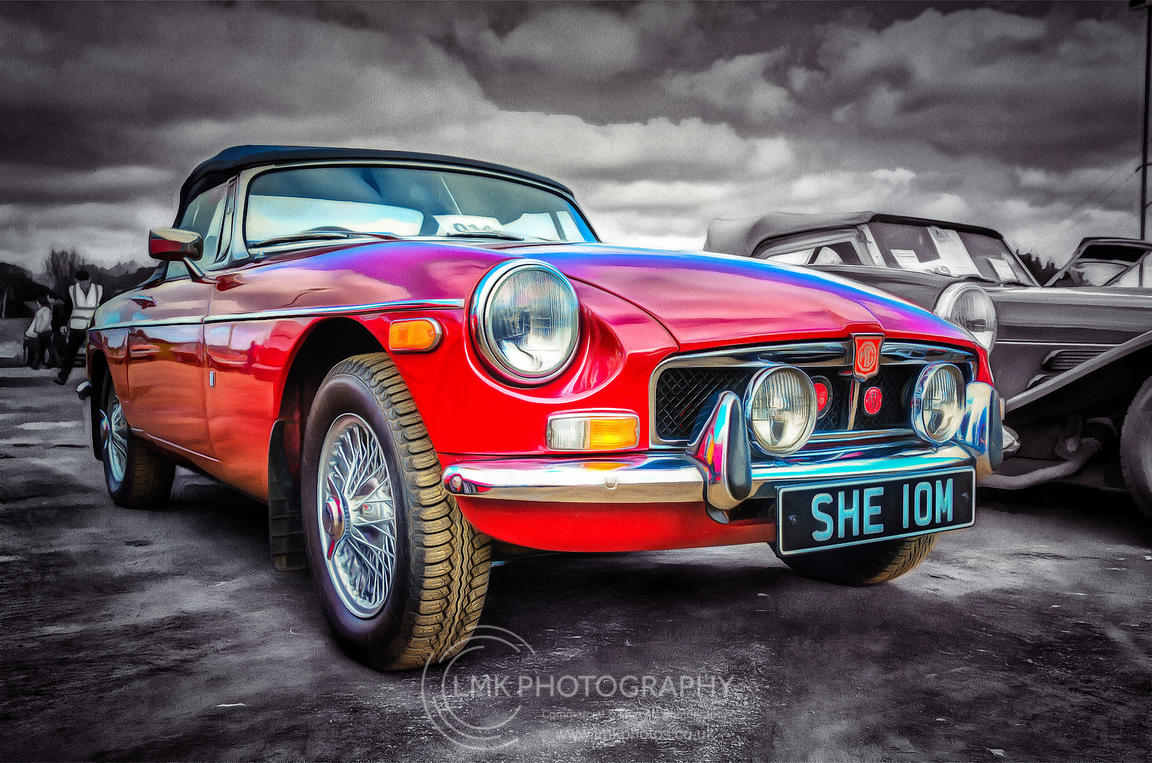 MG Midget MKIII Painting