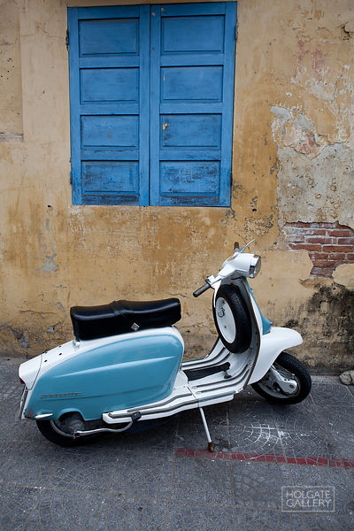 Blue Scooter 1