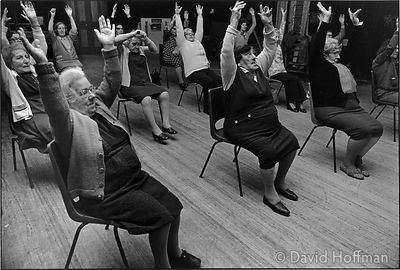 C84-37 Old people's clubs in Whitechapel and Shoreditch, 1974 & 1975.