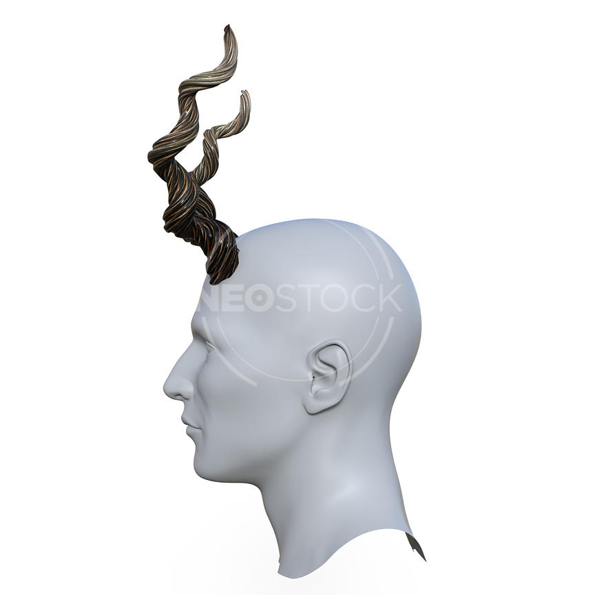 Uni_Twisted_Horns_-_Profile