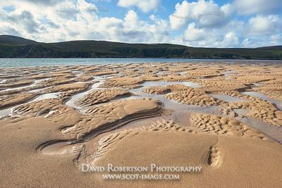 Image - Patterns in sand at low tide, Kyle of Durness, Durness, Sutherland, Highland, Scotland