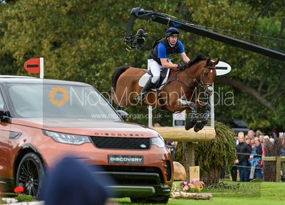 Richard Skelt and CREDO III - Cross Country - Land Rover Burghley Horse Trials 2019