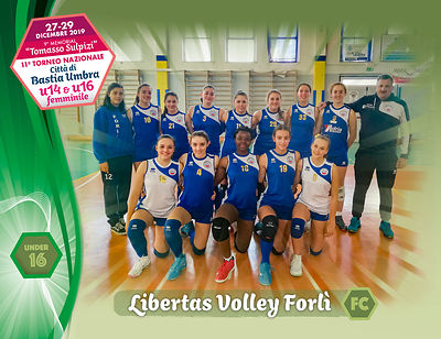 28 dicembre 2019. Foto: per VolleyFoto.it [riferimento file: 2019-12-28/U16-Libertas Volley Forlì FC]