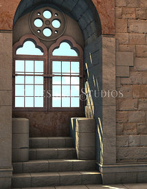 Castle Window Arch