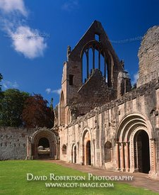 Image - Dryburgh Abbey, Cloister, Borders, Scotland