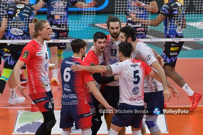 Sir Safety Conad Perugia vs Vero Volley Monza, Gara 1, Semifinale Play Off Scudetto, Superlega Credem Banca, Campionato Itali...