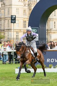 Gemma Tattersall and SANTIAGO BAY - Cross Country - Land Rover Burghley Horse Trials 2019