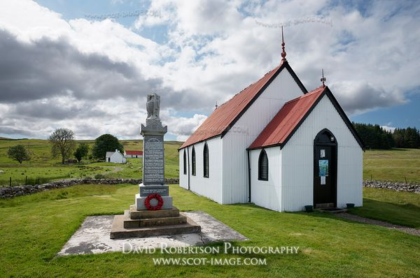 Image - Syre Church, Strathnaver, Sutherland, Scotland