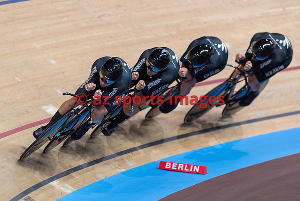 Men 's Team Pursuit finals - New Zealand - STEWART Campbell, GATE Aaron, GOUGH Regan, KERBY Jordan