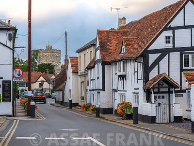Street in a village, Bray, Berkshire