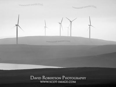 Image - Earlsburn Wind Farm in the Campsie Hills, Stirling