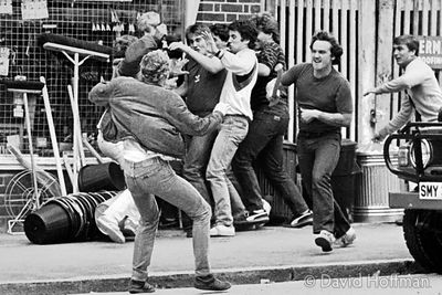 Youths Fighting