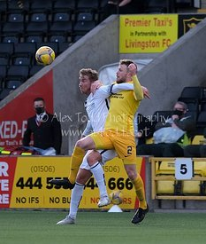 Livingston v Alloa Athletic, Betfred Cup, 10 October 2020
