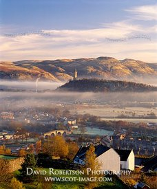 Image - Wallace Monument and the Ochils, Stirling, Scotland