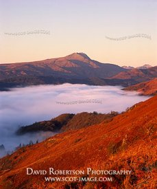 Image - Ben Lomond, Scotland, Mountain, autumn, mist