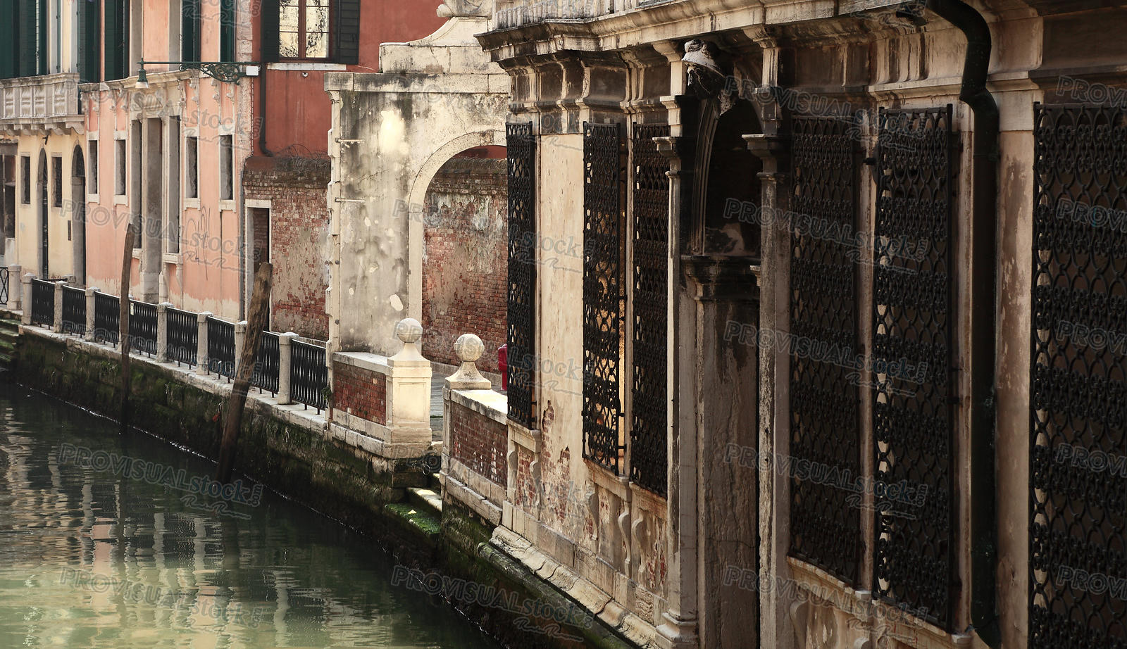 Small Venetian canal