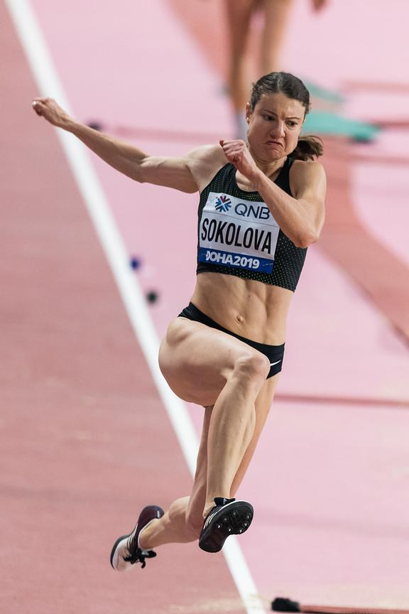 Yelena Sokolova (Authorised Neutral Athlete)
