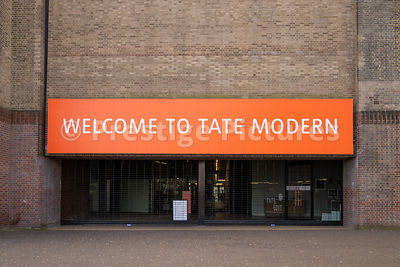 Tate Modern  closed down in March 2020