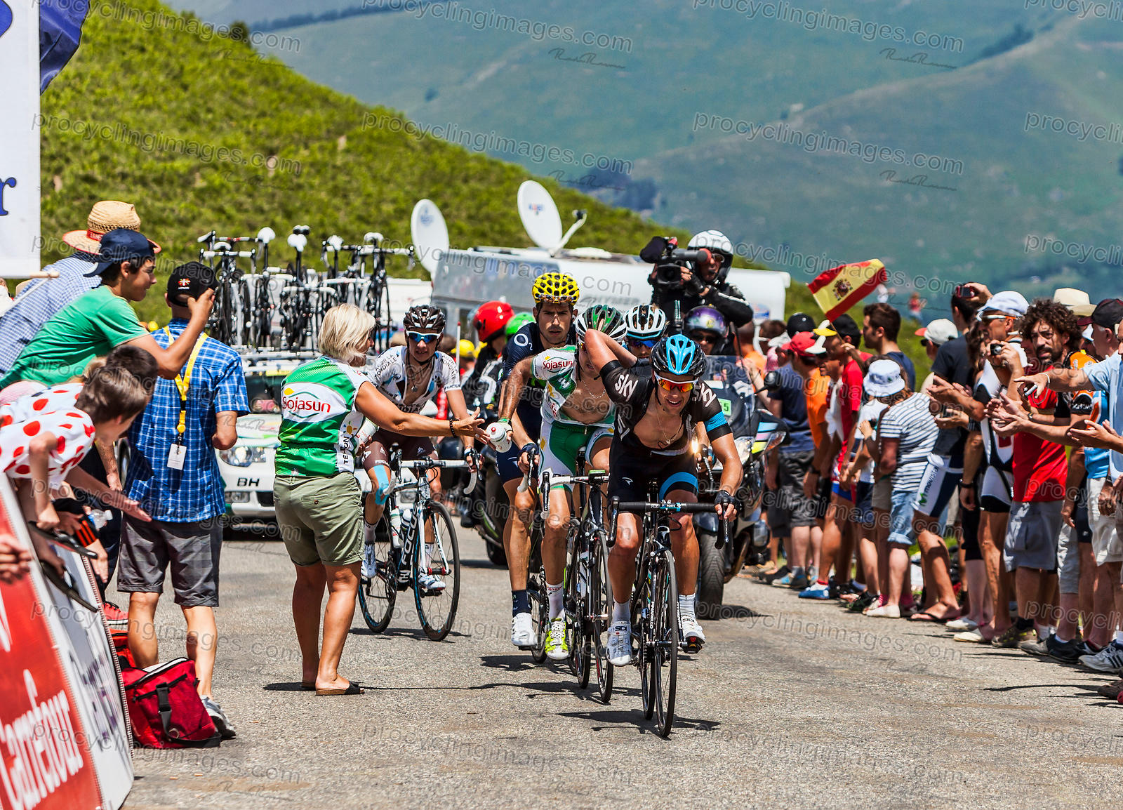 Realimentation Point - Tour de France 2013