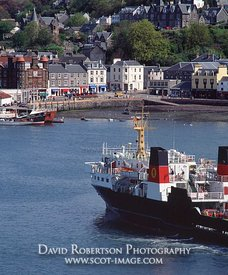 Image - Caledonian MacBrayne ferry in Oban, Scotland