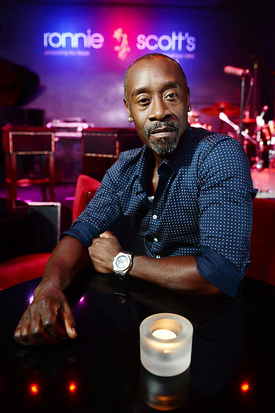 Don Cheadle Visits Legendary London Jazz Venue Ronnie Scotts Ahead Of Release Of Miles Davis Film Miles Ahead