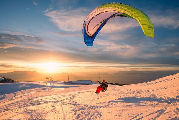 Semnoz soaring with Michael Regnier