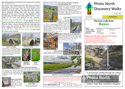 Hawes walk download - Two page pdf file