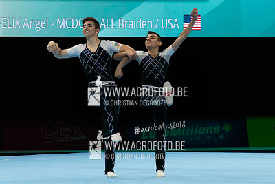 AG 13-19 Men's Pair United States - Dynamic