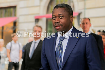 President of Togo Faure Gnassingbé during a vist to Berlin in 2016