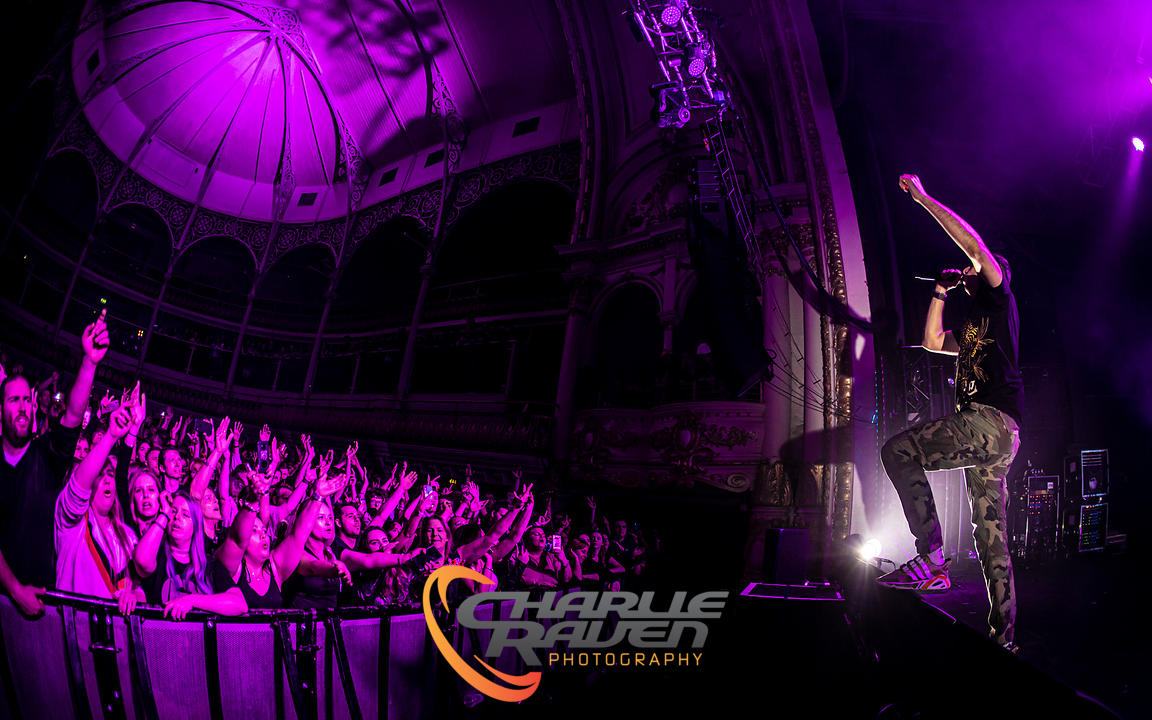 Example performing at the O2 Academy Bournemouth 06.03.2020