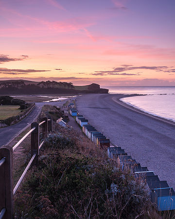 September_sunrise_-_Budleigh_Salterton