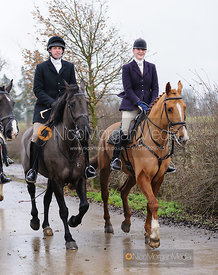 The Quorn Hunt at Baggrave Hall 10/1